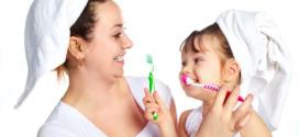 Saúde - Auxiliar a criança na escovação é saída para dentes fortes