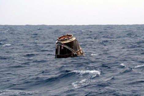 Nave espacial retorna à Terra com material crucial para Nasa