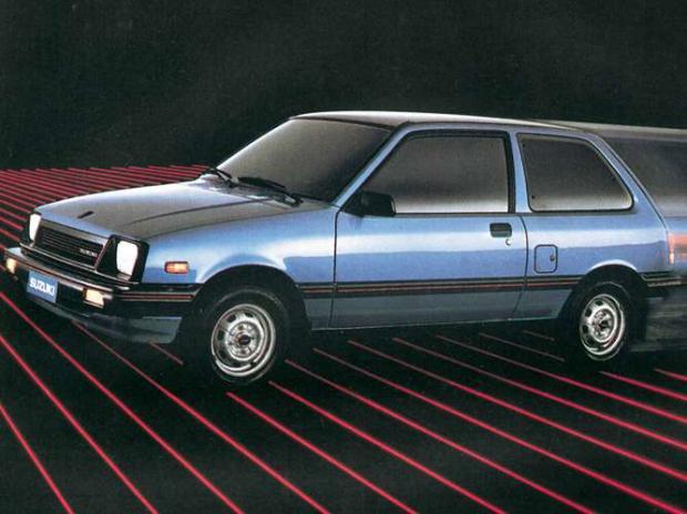 Suzuki SA310 1985 - O modelo foi rebatizado diversas vezes e, era o irmão gêmeo japonês do Chevrolet Sprint. Por isso os dados obtidos são iguais: 16,5 km/l na cidade e 19,9 km/l na estrada.