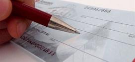 Clientes usam cada vez menos cheque como meio de pagamento
