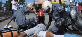 Montes Claros - Bombeiros realizam simulado de moto resgate