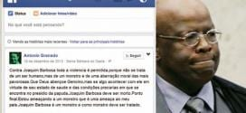 Joaquim Barbosa sofre ameaças de morte na internet, e Polícia Federal investiga