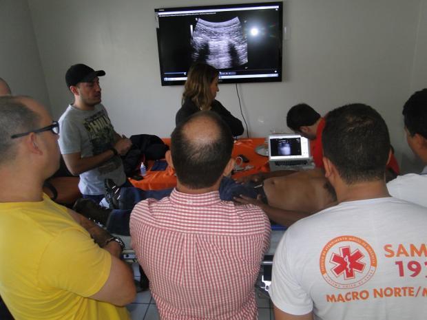 Norte de Minas - Ambulâncias do SAMU são equipadas com ultrassonografia portátil