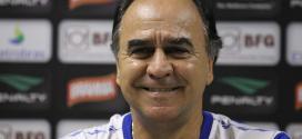Futebol - Marcelo Oliveira traça meta para o Cruzeiro até a pausa do Brasileirão