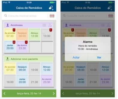 App está disponível gratuitamente para iOS e Android.