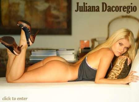 Super Gata do Dia - Juliana Dacoregio