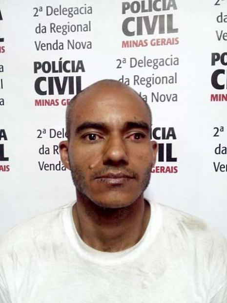 Testemunhas de um assalto prenderam e amarraram o suspeito Paulo da Silva Henrique, 32 anos,