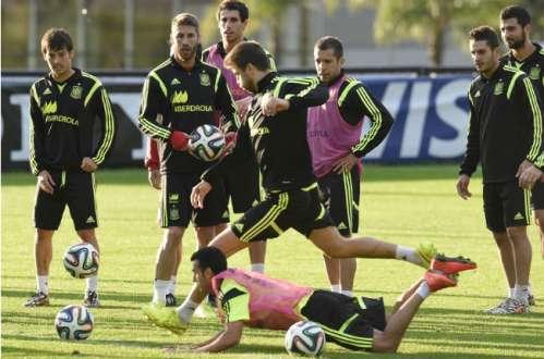 Copa 2014 - Espanha espera 'pressão suicida' do Chile na quarta