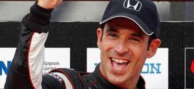 Helio Castroneves vence a segunda prova em Detroit da IndyCar