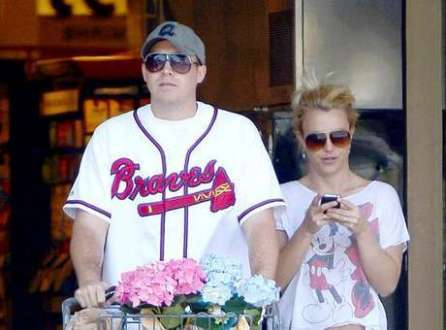 Britney Spears e David Lucado