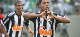 Brasileirão 2014 - Ronaldinho garante permanência no Atlético-MG até o fim do contrato
