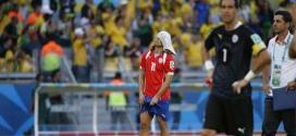 Chilenos lamentam derrota