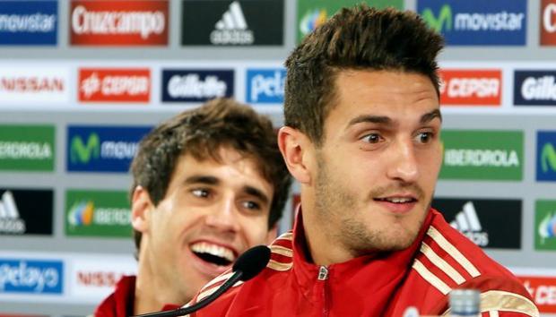 Koke e Javi Martínez podem ser titulares (Foto: Orlando Kissner/ AFP)