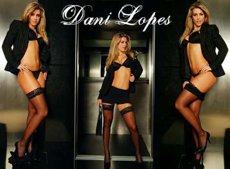 Super Gata do Dia - Dani Lopes