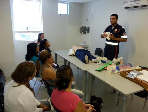Montes Claros - SAMU realiza treinamento para profissionais dos hospitais