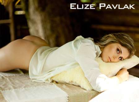 Super Gata do Dia - Elize Pavlak