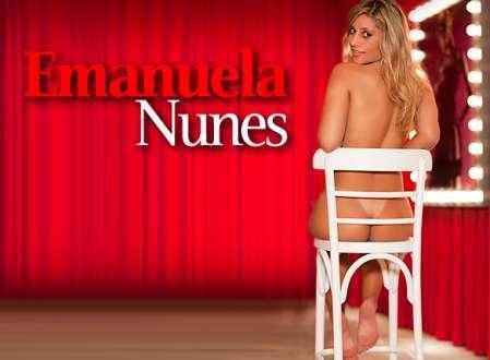 Super Gata do Dia - Emanuela Nunes