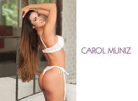 Super Gata do Dia - Carol Muniz