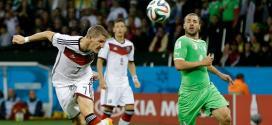 Copa 2014 - Alemanha vence Argélia na prorrogação e vai às quartas de final
