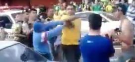 MG - Vídeo mostra ao Prefeito de São Sebastião da Bela Vista em briga no meio da rua