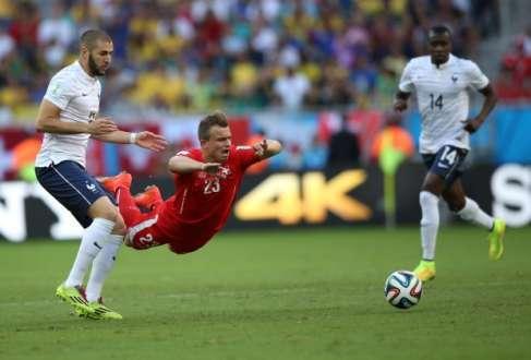 Partida entre Suíça e França na Arena Fonte Nova teve uma média de 26ºC