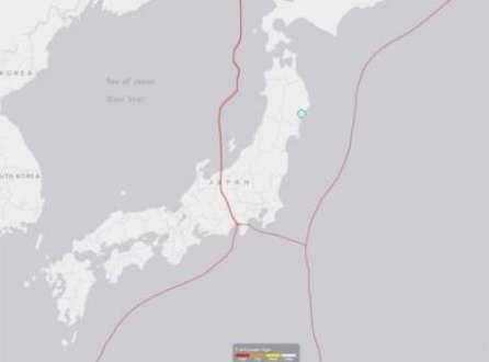 O tremor aconteceu a uma profundidade de 88,7 quilômetros