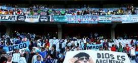 Torcida da Argentina na Copa da África do Sul; com distância menor, barrabravas devem invadir Brasil em 2014