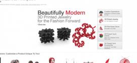 Novo site negocia produtos feitos em impressora 3D como bijuterias e utensílios para casa