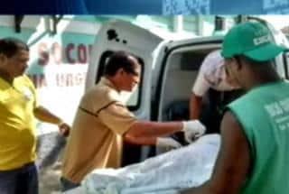 Menina chegou a ser socorrida para o Hospital Regional de Itabuna, mas não resistiu Reprodução/Record BA