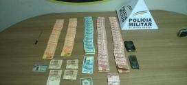Homem tentava enganar comerciantes com notas falsas compradas em São Paulo