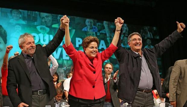 Montes Claros - Dilma, Lula e Pimentel participam de ato de campanha em Montes Claros