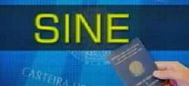 Vagas do Sine em Montes Claros – 07/07/2014
