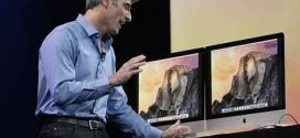 Craig Federighi, vice-presidente de engenharia da Apple, apresentou o OS X Yosemite em junho
