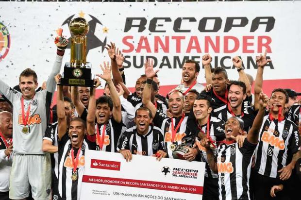 Com dois gols na prorrogação, o Atlético-MG venceu o Lanús por 4 a 3 e conquistou a Recopa Sul-Americana