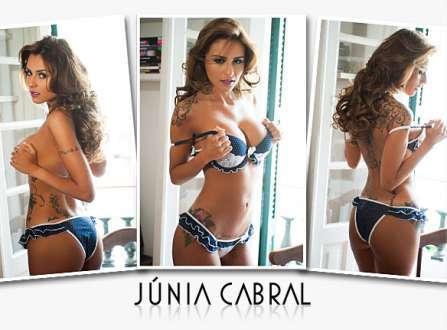 Super Gata do Dia - Júnia Cabral