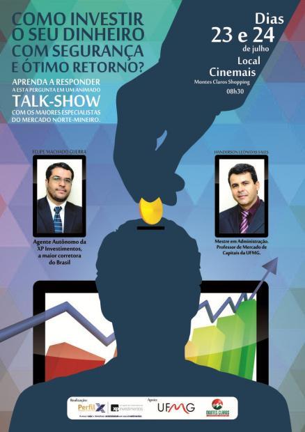 Montes Claros - Investir com segurança é tema de talk-show no Montes Claros Shopping