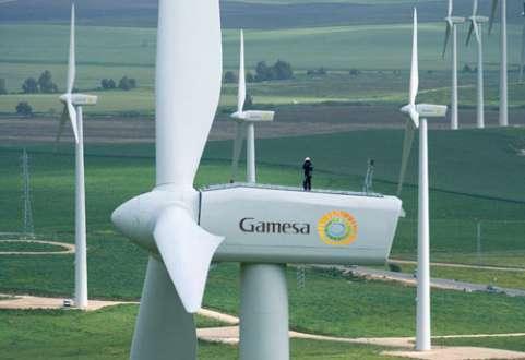 Espanhol Gamesa assina dois contratos no Brasil para fornecer turbinas eólicas