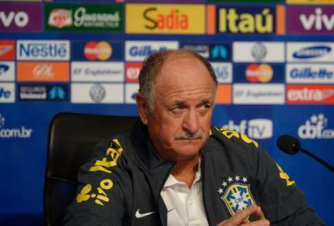 Felipão pode fazer, neste sábado, sua despedida da seleção brasileira