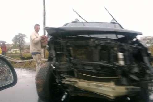 MG - PM morre em acidente em Carandaí