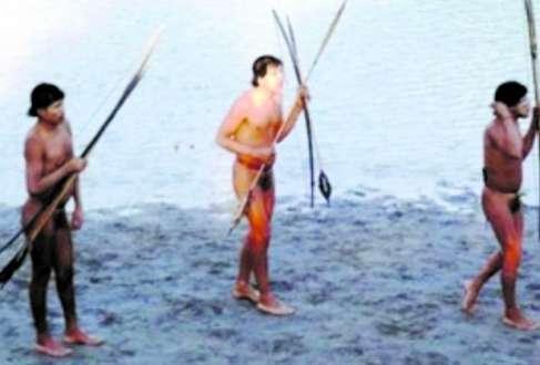 Isolamento. Índios da Amazônia fazem contato pela primeira vez no último mês e pegaram gripe