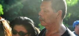 Ex-pugilista Maguila compareceu ao enterro do narrador Luciano do Valle recentemente