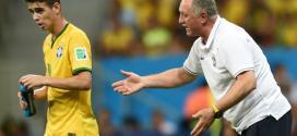 'Até que jogamos bem', afirma Oscar depois de 3 a 0