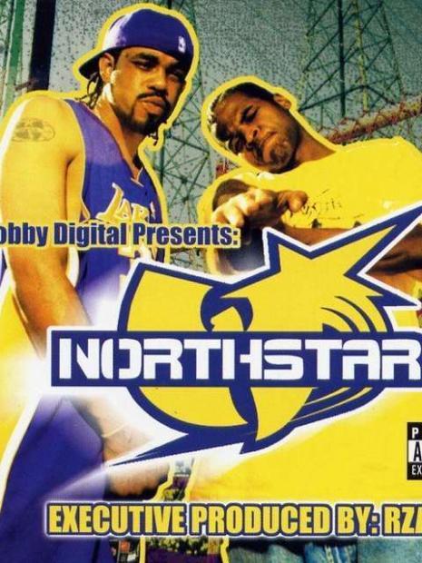 Capa do CD do grupo Northstar com Andre Johnson à direita