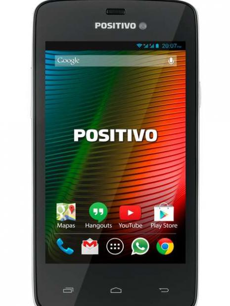 Smartphone da Positivo tem Android KitKat, câmera de 5 MP e processador dual-core de 1.3 GHz