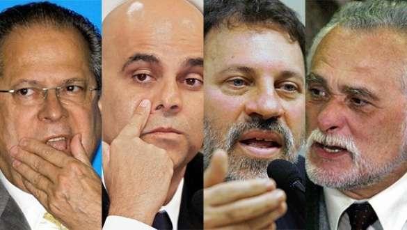 Brasil - Réus do mensalão já devem R$ 17,6 milhões para a União