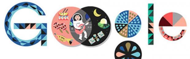 Principal obra de John Venn, o Diagrama de Venn ganha uma nova versão animada no doodle