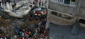 O balanço dos bombardeios israelenses neste domingo chega a 12 mortos