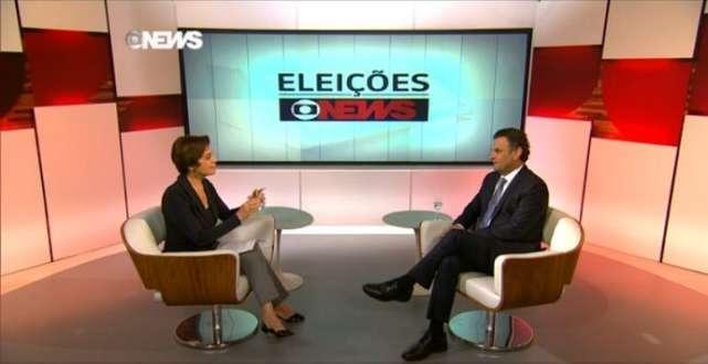 Em entrevista ao Jornal das Dez, da GloboNews, o tucano defendeu ainda a redução do intervalo de tolerância da meta de inflação, atualmente em dois pontos para cima e para baixo.