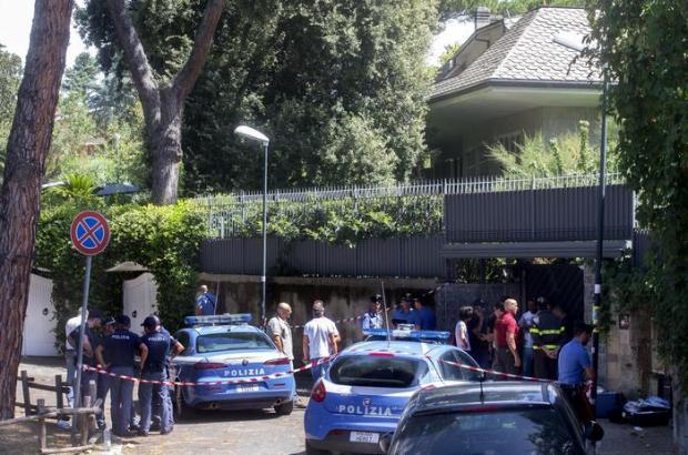 O crime ocorreu em uma casa de uma vila do bairro residencial de Europa.