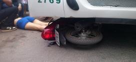 Montes Claros - Acidente envolvendo ônibus e motociclista deixa uma pessoa ferida, na Vila Guilhermina